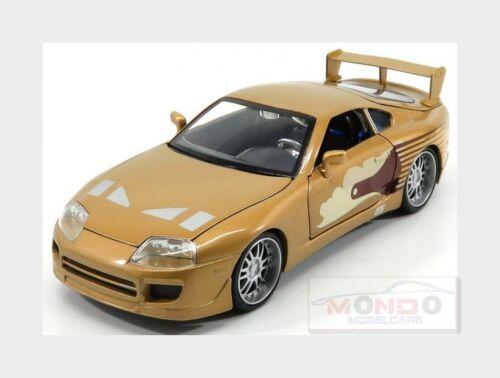 Toyota Slap Jack/'S Supra Turbo Mkvi 1993 Fast /& Furious Ii JADA 1:24 JADA99540