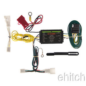 curt trailer hitch custom wiring harness connector 56147. Black Bedroom Furniture Sets. Home Design Ideas