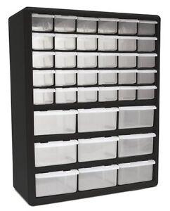 Genial Image Is Loading NEW HOMAK HA01039001 39 Drawer Plastic Parts Organizer