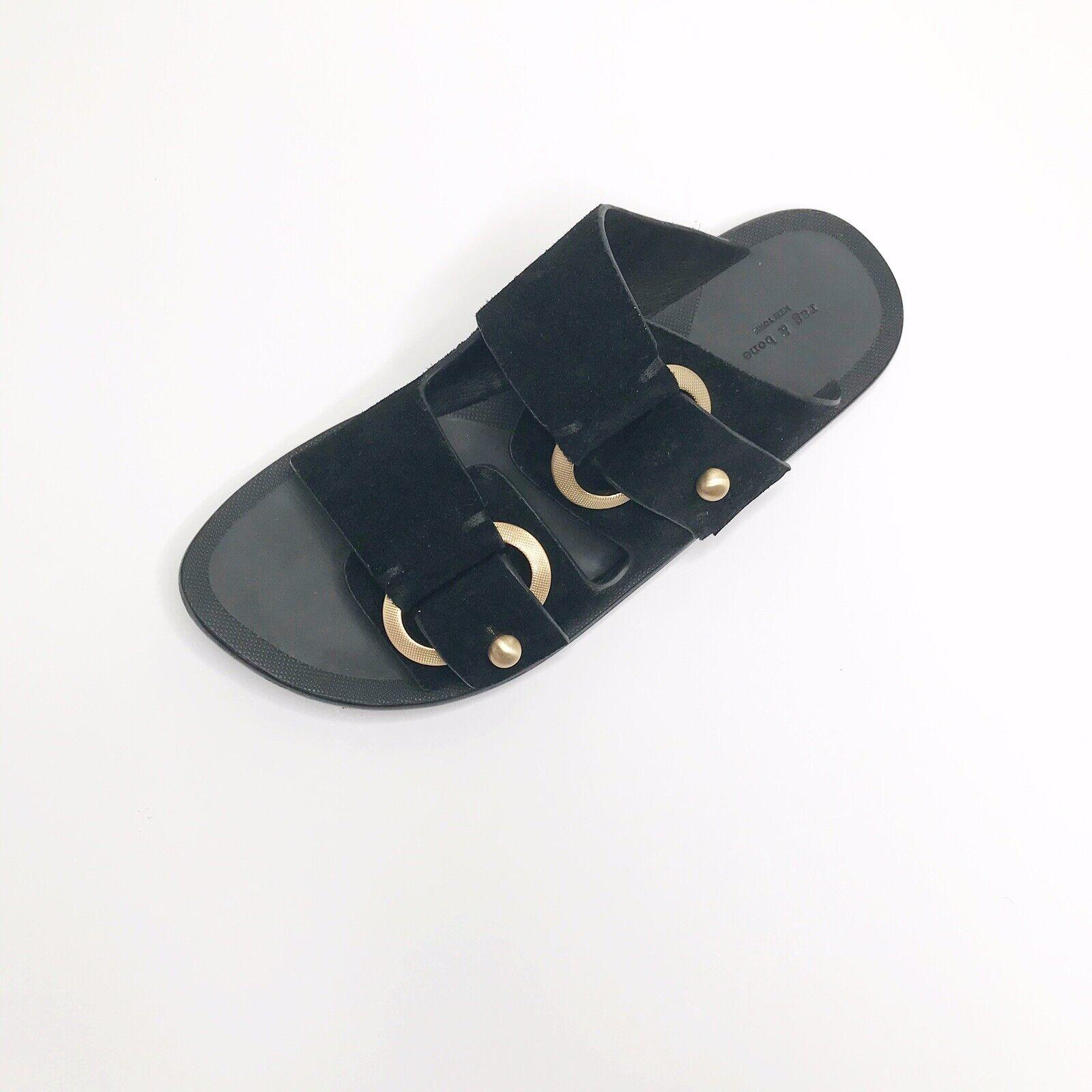 Rag & Bone Avost 36.5 Sandal-Suede Black *Replace… - image 1