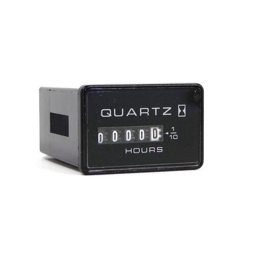 NEW Honeywell 82001 Quartz Standard Hour Meter Timer 10,000 Hours