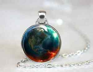 Planet-Earth-on-Fire-Necklace-Geekery-Glass-cabochon-pendant-chain-Necklace-72