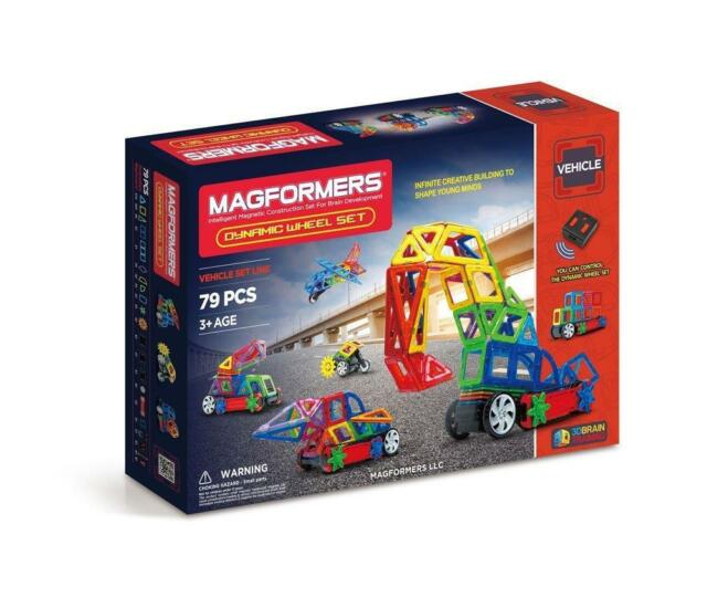Magformers Dynamic Wheel Set (79 Pieces) Canadian Seller CANADA
