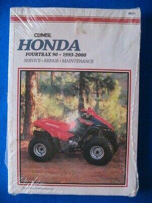 CLYMER Repair Manual for Honda Fourtrax 90 1993-2000
