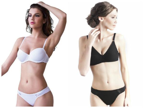 Uniconf 4-er Pack Damen Unterwäsche Slip Unterhosen Classic Bikini Slips Dessous