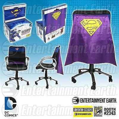 DC Comics Licensed SDCC Exclusive BIZARRO CHAIR CAPE Superman Alter Ego LE1200