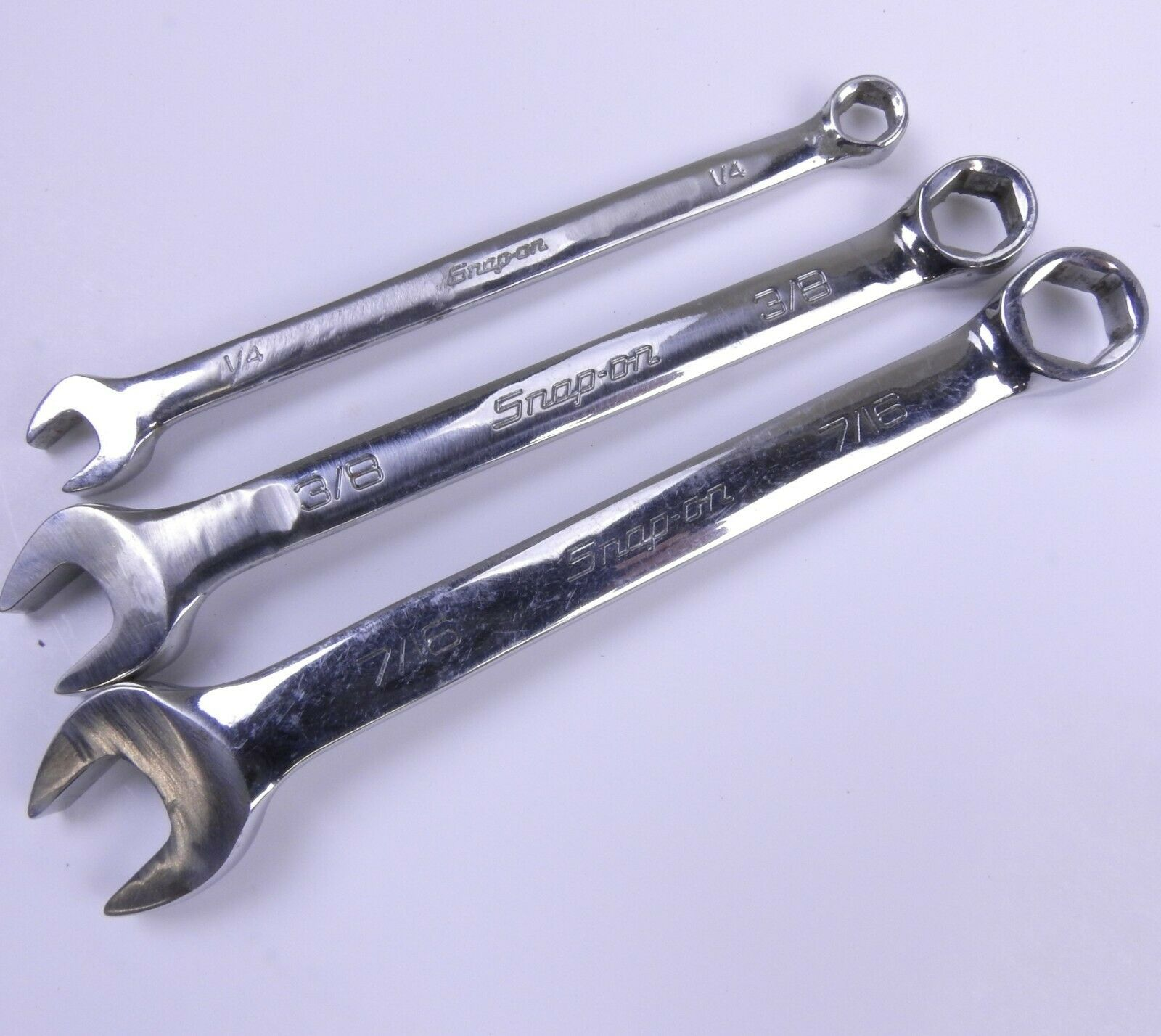 Snap-on 6pt combination wrench set 3Pcs