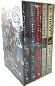 NEW Rush Revere Set of 5 Boxed Volume Collection Hardcover Book Limbaugh