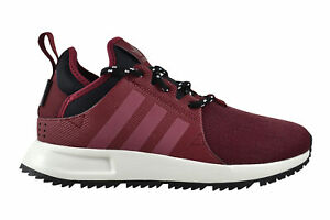 7398ed23cb567a Das Bild wird geladen Adidas-X-PLR-SNKRBOOT-burgundy-black-Sneaker-Schuhe-