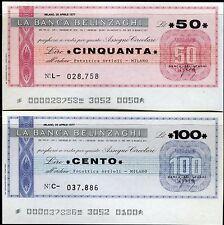 BANCA BELINZAGHI 26/4/1977 FOTOTTICA ARTIOLI MILANO L.50+100 FDS