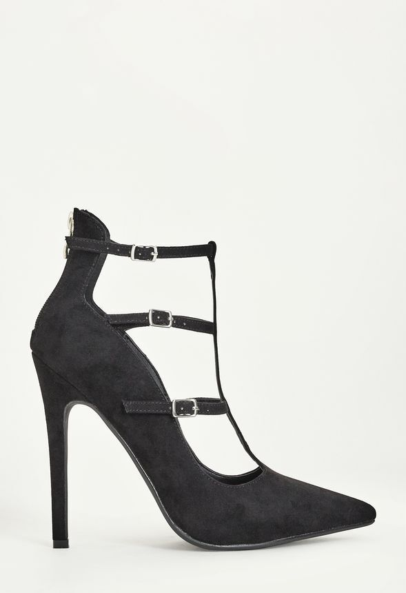 Just Fab Ariadna shoes In Black UK 6 EU 38.5 JS14 87 SALEx