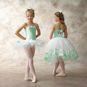 Romantic Ballet Tutu Dance Costume CLEARANCE Half Price! Short & Long Child