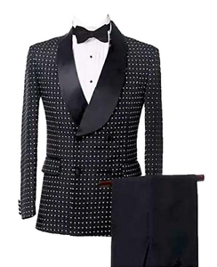 Mens-Suits-Double-Breasted-Houndstooth-Groom-Shawl-Lapel-Tuxedos-Wedding-Suit