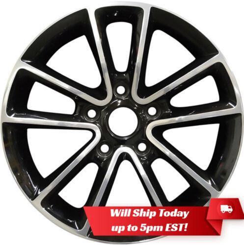 """New 17/"""" Polished Black Alloy Wheel Rim for 2017-2019 Dodge Journey 14-19 Caravan"""