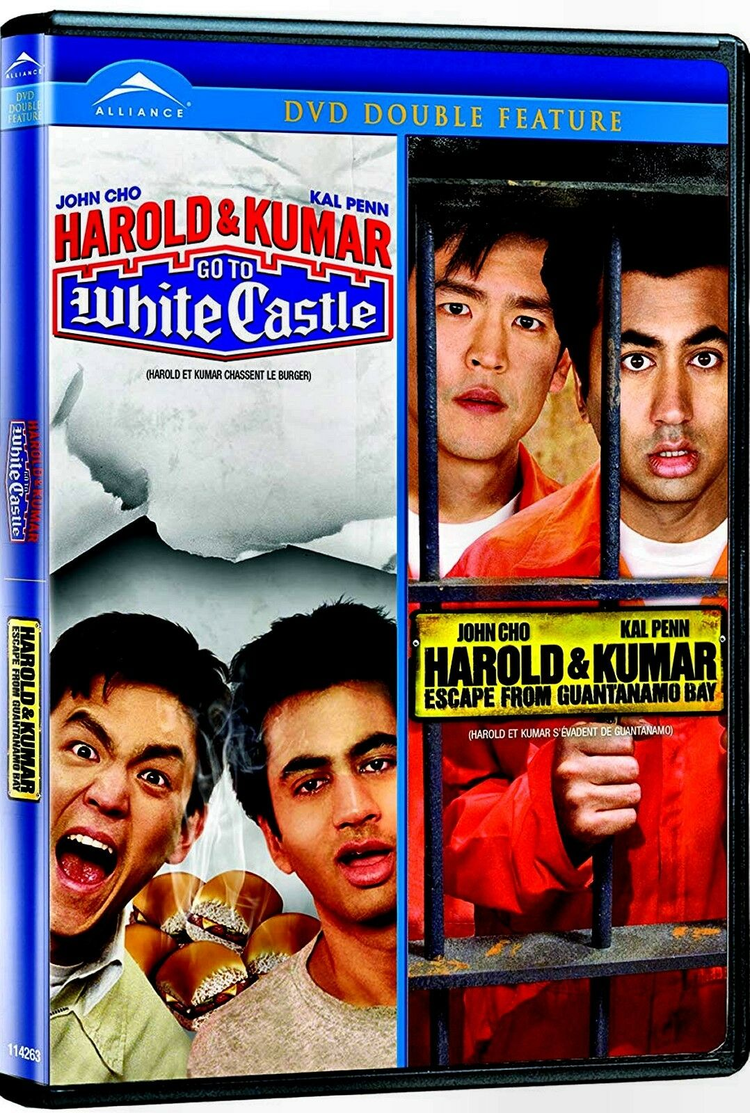 Harold And Kumar Escape From Guantanamo Bay Full Movie Free harold kumar go to white castle/harold kumar escape from guantanamo bay (dvd, 2009, canadian french)