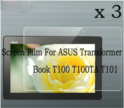 3 Glossy Matte Screen Protector Film Cover F ASUS Transformer Book T100 T100TA