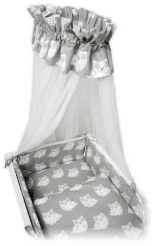Baby wiegenset himmelset serait steppmatratze pour berceau NEUF HIBOU Design