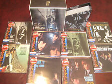ROLLING STONES OUT OF HEADS 8 JAPAN REPLICA'S OBI CD'S TREMENDOUSLY RARE Set