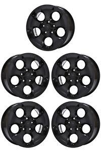 18 Jeep Wrangler Sahara Black Wheels Rims Factory Oem Set 5 9119 Ebay