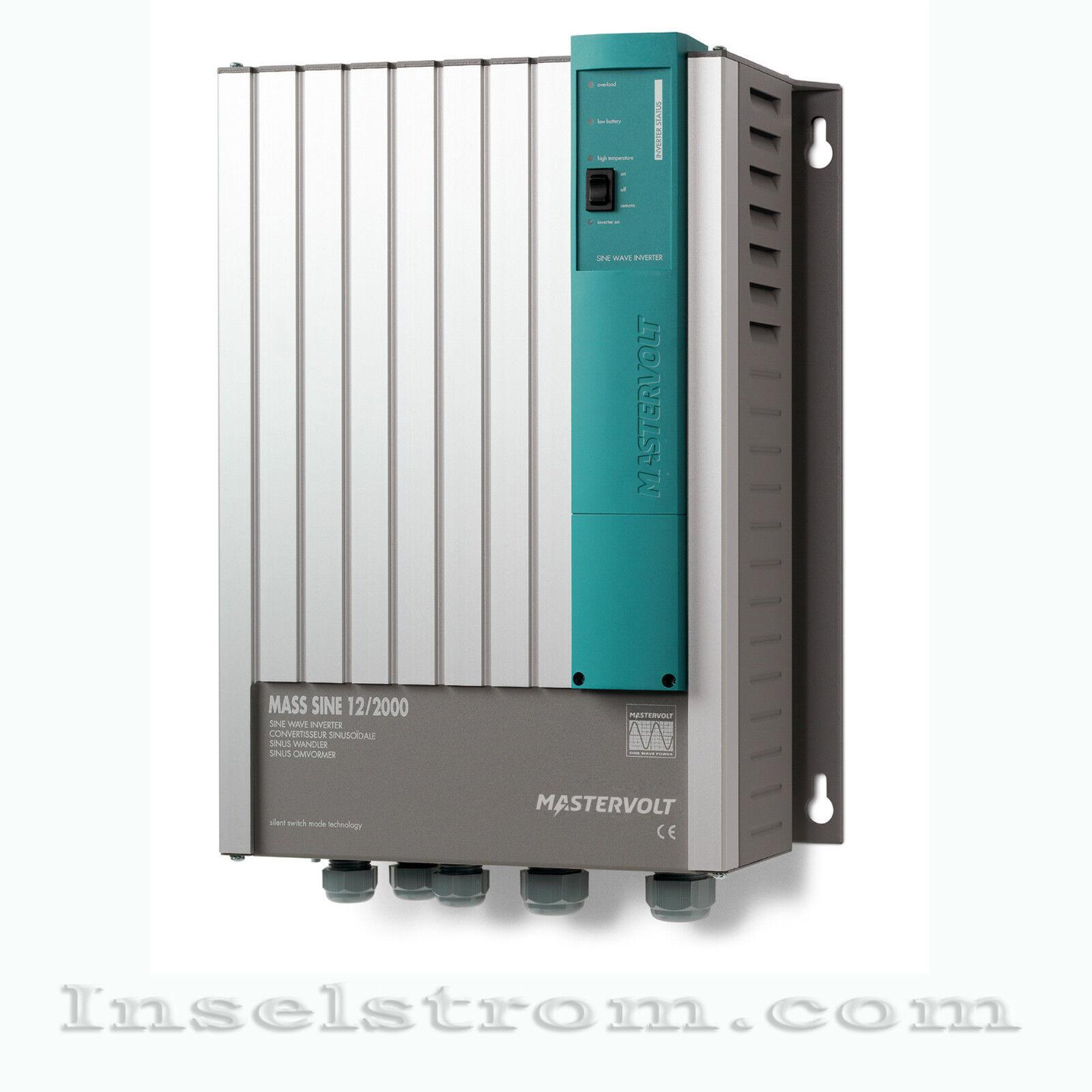Mastervolt Wechselrichter Mass Sine 12/2000 Wechselrichter Mastervolt Inverter ac5783