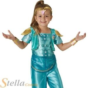 Nina Brillo Brillo Brillo Genio Disfraz De Carnaval Infantil Disfraz Ebay
