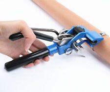 Tensioning Trigger Cable Tie Gun Stainless Steel Zip Plier Bundle Tool