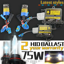 75W HID Xenon Conversion KIT H7 5500K 6500K HID Quick start 9-12v