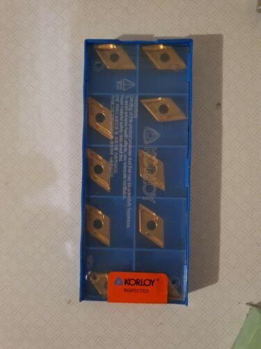 10 wendeschneidplatten  korloy DNMX 1506004L-SH nc 3220