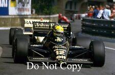 Ayrton Senna Lotus 98T Monaco Grand Prix 1986 Photograph 2