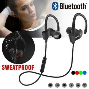 Bluetooth-Inalambrico-Auriculares-Audifonos-Deportivos-Correr-Resistente-al-Agua-Nuevo