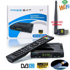 Full 1080P DVB-S2 Freesat V7 HD Digital Satellite Receiver Decoder USB WIFI