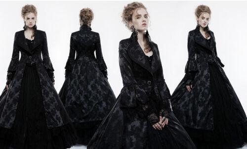 Punk Rave Mantel Gothic Steampunk Coat Victorian Spitze Lace Jacquard WY-844CLF
