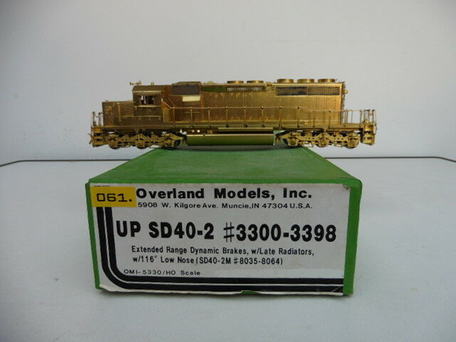 OMI Overland up Union Pacific sd40-2 #3300-3398 h0 verniciate