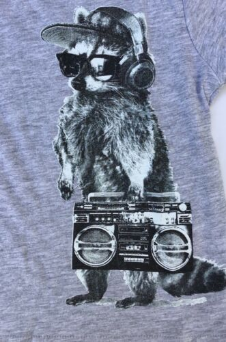 Baby Boys Grey Long Sleeve T Shirt with Meercat and Ghetto Blaster detail