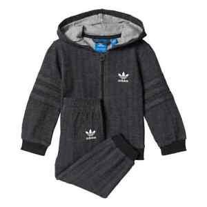 ac125148bb1e Image is loading Adidas-Originals-Infant-Trefoil-Tracksuit-Baby -Kids-Children-