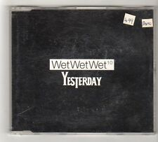 (FZ950) Wet Wet Wet, Yesterday - 1997 DJ CD