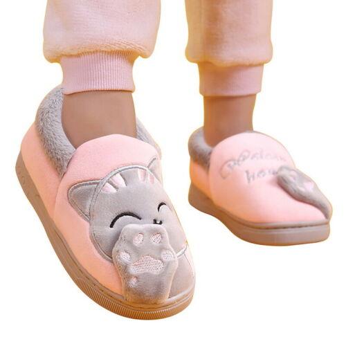 Child Slip On Memory Foam Anti-Slip Sole Girls Boys Winter House Slippers Shoes