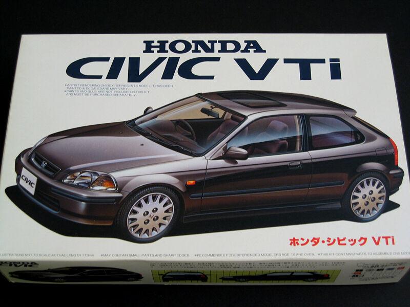 1 24 Japan Fujimi Honda EK9 Civic VTi Plastic Model Kit