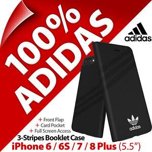 """adidas Originals 3-Stripes Booklet Case for Apple iPhone 6/ 6S/ 7/ 8 PLUS (5.5"""")"""