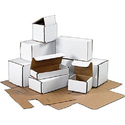 16x6x6 Indestructo Mailers 100 ct White