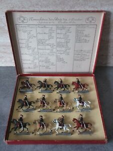 Rare box lucotte/gerbeau former-gunners has horse-size 2