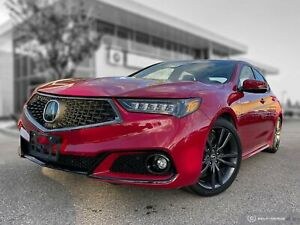 2018 Acura TLX Elite A-Spec Local! Accident Free! New Tires!