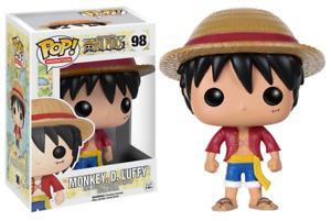 One Piece #98 - Monkey. D. Luffy - Funko Pop! Animation (Brand New)