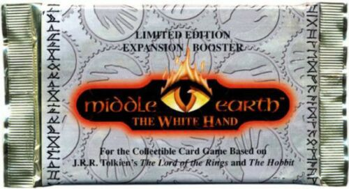 The Lord of the Rings Middle-Earth CCG The White Hand Booster Pack 12 Cards