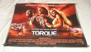 Torgue Original UK Quad Movie Cinema Poster 2004 Ice Cube