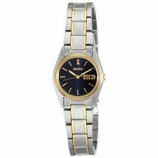 New Seiko Women's SXA120 Two Tone Stainless Steel Quartz Watch