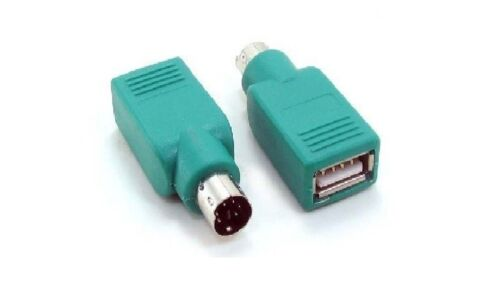 USB 2.0 Female to PS//2 Male Mouse//Keyboard Adapter Converter Retail Plus A