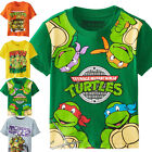 Kid Baby Boy Girls Teenage Mutant Ninja Turtles T-Shirt Tops Baby Blouse Clothes