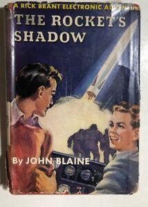 RICK-BRANT-1-The-Rocket-039-s-Shadow-by-John-Blaine-c-1947-G-amp-D-HC-w-dj