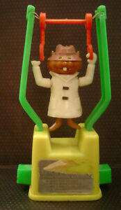 VINTAGE-HANNA-BARBERA-SECRET-SQUIRREL-TRICKY-TRAPEZE-KOHNER-TOY-Works